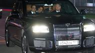 Putin ile Sisi, Rus üretimi Aurus marka yeni otomobille tur attı
