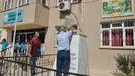 Okuldan Atatürk büstünü çaldılar