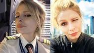 THY'nin güzel pilotu Ebru Ünsal'a Los Angeles'ta yeni görev