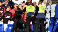 Mourinho 90+6'da çılgına döndü! Koridora kadar kovaladı