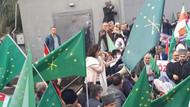 Çerkeslerden Kanal D önünde protesto: Diziyi derhal yayından kaldırın
