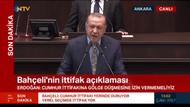 Erdoğan'dan Bahçeli'ye yanıt: Herkes kendi yoluna!