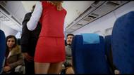 Uçakta öndeki kadının göğüslerini elleyen tacizciden Trump'lı savunma