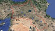 Google'da Kürdistan haritası skandalı: Türkiye'yi ikiye böldüler