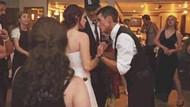 Düğünde çekilen fotoğraf sosyal medyayı karıştırdı