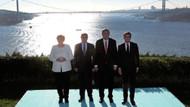 Liderlerden Suriye zirvesi öncesi aile fotoğrafı
