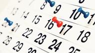 2019 resmi tatil günleri: 2019 yılında resmi tatiller hangi güne denk geliyor?