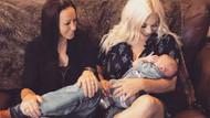Hamilelikte iki anne tarafından da taşınan ilk çocuk!