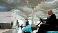 İstanbul Havalimanı'nın tavanında dikkat çeken ayrıntı