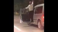 Adana'da sıradan bir gün: Direksiyonu bırakıp dans etti