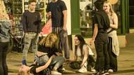 Öğrenciler üniversite festivalinde fena dağıttı