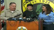 7 yaşındaki çocuk eve gelen hırsızları kaçırdı!