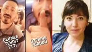 Genç kadına küfür edip, dövmeye kalkışan dolmuş magandası yakalandı
