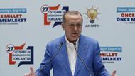 Erdoğan konuşmasında İsmet İnönü'nün ABD bayraklı fotoğrafını gösterdi