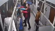 Halk otobüsünde 10 yaşındaki kıza taciz rezaleti
