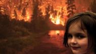 Alevlerin içindeki gülüşüyle hafızalara kazınan kız büyüdü