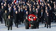 Anıtkabir'de dikkat çeken görüntüler Erdoğan Akşener ve Bahçeli'yi...