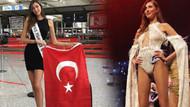 Miss Turkey birincisi Şevval Şahin Miss World için Çin'e uçtu
