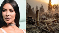 Kim Kardashian evini terk etti