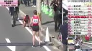 Bacağı kırılmasına rağmen yarışa devam etti!