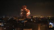 Son dakika: İsrail savaş uçakları El Aksa televizyonunu vurdu