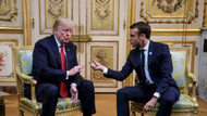 Trump'tan Macron'a: ABD olmasaydı Nazi işgalinde Almanca öğreniyordunuz