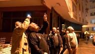 Güngören'de Suriyelilerin yaşadığı 6 katlı bina göçük nedeniyle boşaltıldı