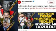 Akit gazetesinden Atatürk'e alçak saldırı: Teröristlerle yan yana gösterdi