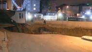 Son dakika: İBB'den Ümraniye'deki göçük açıklama