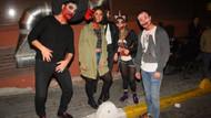 Halloween partisinde kostümler kapışıldı, kulüpler önünde kuyruk oluştu