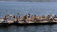 Marmaris'te Kasım'da deniz keyfi