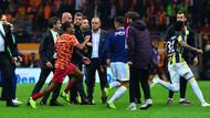 Derbi kavgasının bilançosu: Fenerbahçe'ye 2, Galatasaray'a 1 kırmızı kart