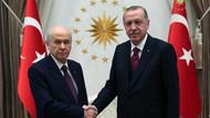 Son dakika: Erdoğan Bahçeli görüşmesi sona erdi