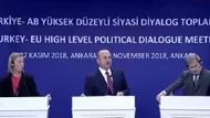 AB temsilcileri ile Mevlüt Çavuşoğlu arasındaki gergin diyalog