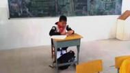 Sınıfta skandal! Kanser hastası diye bunu yaptılar