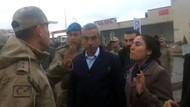 HDP'li vekil saygı duyacaksın deyince jandarma komutanı: TOMA'yı çalıştır