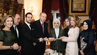 Yelda Demirören ile Haluk Kalyoncu'nun nişan yüzüklerini Erdoğan taktı
