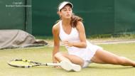 Güzel tenisçi Ayla Aksu tek kadınlarda şampiyon oldu