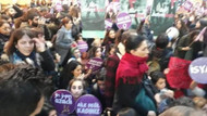 Taksim'deki kadına şiddet eyleminde polis şiddeti