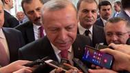 Cumhurbaşkanı Erdoğan'ın muhabirle yes diyaloğu