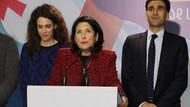 Gürcistan'ın ilk kadın cumhurbaşkanı Salome Zurabişvili