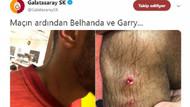 Galatasaray'dan derbi sonrası Belhanda ve Rodrigues paylaşımı