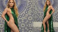 Jennifer Lopez'in cüretkar pozu yeni akım başlattı!
