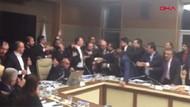 Meclis Sağlık Komisyonu'nda kavga! Milletvekilleri birbirine girdi
