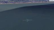 Google Earth'de keşfetti! Okyanusun dibinde inanılmaz görüntü