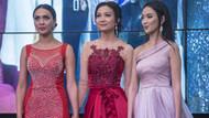 Kırgızistan Güzeli 2018 Yarışması'nın katılımcıları güzelliğiyle göz kamaştırdı