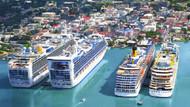 Global'in Karayipler'deki limanında yolcu sayısı 1 milyonu aşacak