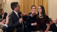 Beyaz Saray'daki tartışmada kim kime dokundu?