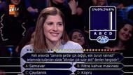 Boğaziçili öğrenci Kim Milyoner Olmak İster'de ilk soruyu seyirciye sordu
