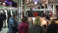 Son dakika: Marmaray'da teknik arıza